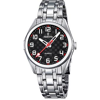 Feast Junior Quartz Analog Child Watch with Stainless Steel Bracelet F16903/3