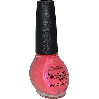 Nicole by OPI Nail Lacquer 15ml Great Minds Pink Alike