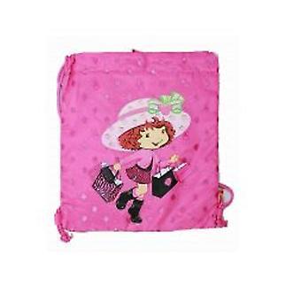 String Backpack Strawberry Shortcake Bag Cinch Bag Girls Gift 35235