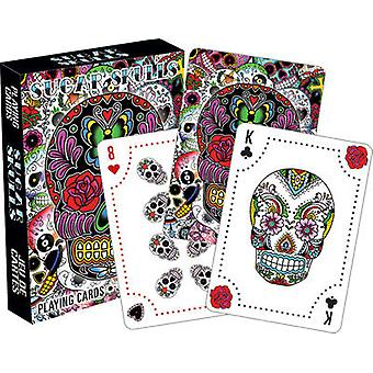 Playing Card - Sugar Skulls Poker Games New Licensed 52434