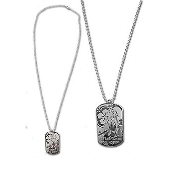 Necklace - Ambition of Oda Nobuna - New Oda Shadow Dogtag ge36079