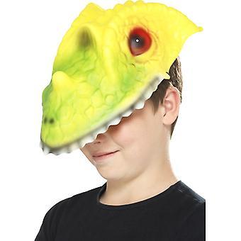 Smiffys Crocodile Head Mask Green & Yellow Eva (Babies and Children , Costumes)