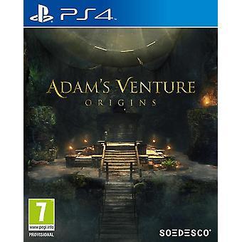 アダムス ベンチャー起源 PS4 ゲーム