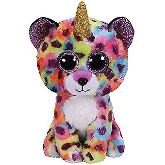 TY Beanie Boo Giselle the Leopard with Horn