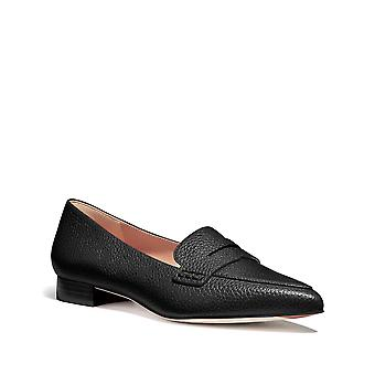 Coach Womens Naomi Leather Pointed Toe Loafers