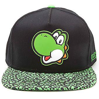 Nintendo Baseball Cap Yoshi Rubber Patch nowy oficjalny snapback