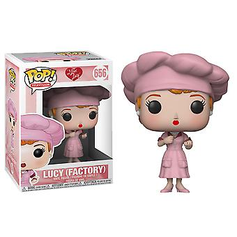 I Love Lucy Factory Pop! Vinyl