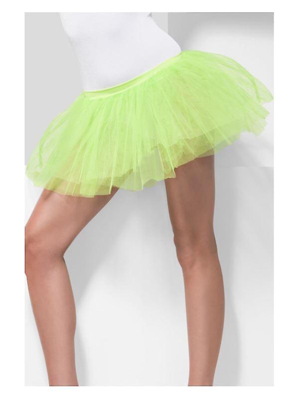 Womens Lime Green Tutu Underskirt  Fancy Dress Accessory