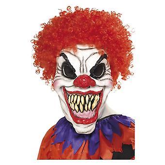 Mens Scary Clown Mask Halloween maskeraddräkter tillbehör