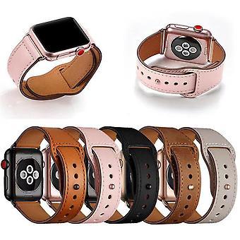 Äkta läder armband till Apple Watch 38/40mm