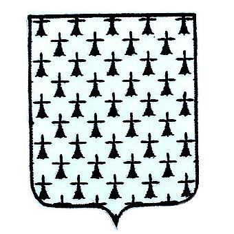Patch Ecusson Brode Bretagne Breton Blason Arms Flag Region Heraldic