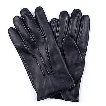 BOSS Bodywear Lambskin Nappa piele grifin mănuși