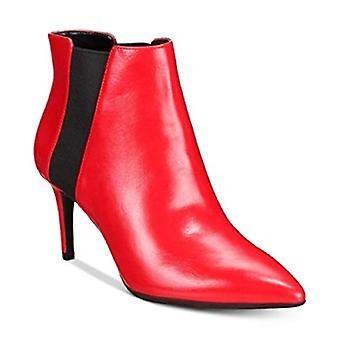 INC International Concepts IRSIA Ankle Booties RED Lava Size 6M