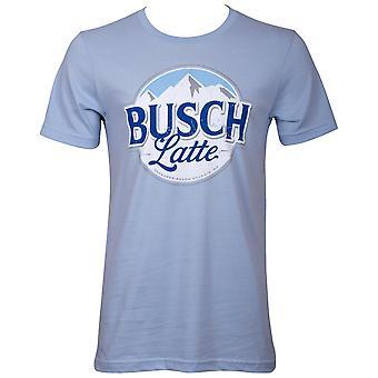Busch Latte Men's Light Blue T-Shirt