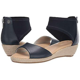 Bandolino Womens SIDNEY Fabric Open Toe Casual Ankle Strap Sandales