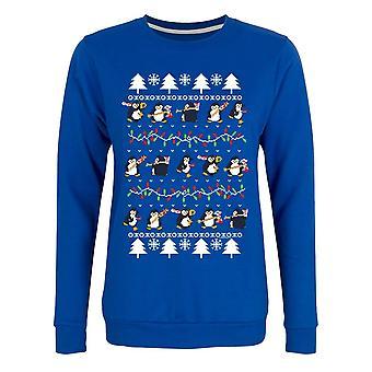 Psycho Penguin Womens/Ladies Seasonal Cheer Christmas Jumper