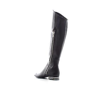 DKNY Womens Lolita läder tall over-the-knä stövlar svart 8,5 medium (B, M)