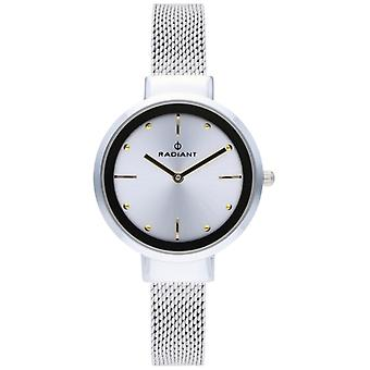 Radiant iris Quartz Analog Woman Watch with RA510603 Stainless Steel Bracelet