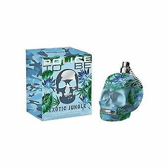 Policja być egzotyczna dżungla dla człowieka Eau de Toaleta 125ml EDT Spray