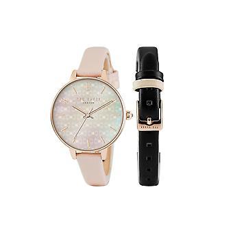 Ted Baker damer Womens Dual Strasp armbåndsur TE50013001