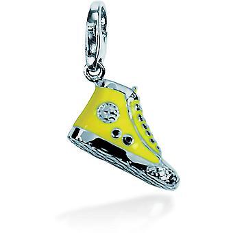 Charm stone Lawson JC99A133 - Charm pendant Converse yellow woman