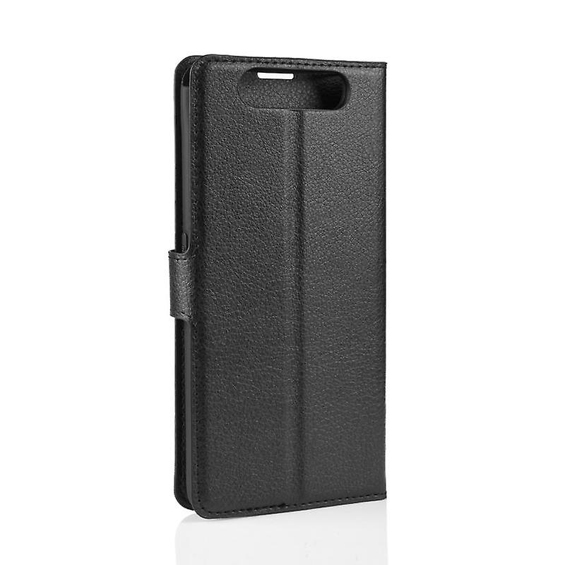 CaseGate phone case case for Samsung Galaxy A80 case cover - lock, stand function and card compartment