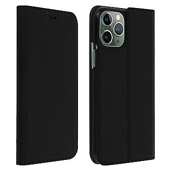 Apple iPhone 11 Pro Case Cover Wallet Support Stand Hard Shell Muvit Black