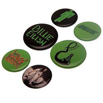 Billie Eilish Button Abzeichen Set