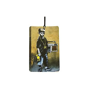 Banksy Beatbox Boy Car Air Freshener