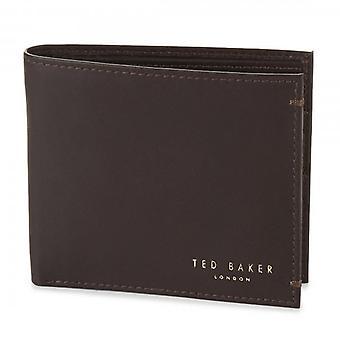 Ted Baker Antonius bőr pénztárca csokoládé barna