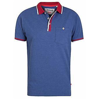 DUKE Duke Pique Contrast Polo Shirt