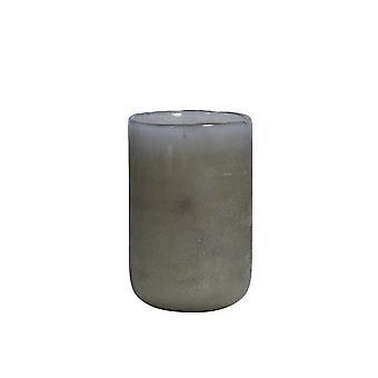 Lys & Levende Vase 12x20cm Matteo Grå-Sand