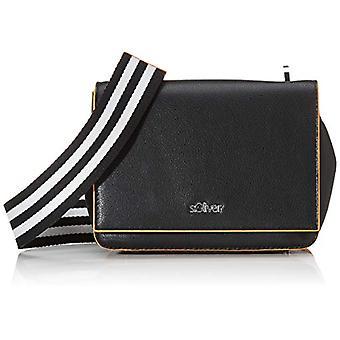 s.Oliver (Bags) 39,002.94.8790 Women's Pockets Cross-shoulder bagGrey/Black (Grey/Black) 8 Cmx 135 Cmx 19 Centimeters (B x H x T)