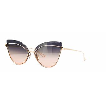 DITA Nightbird One DTS515 02 Rose Gold/Dark Grey-Peach Gradient Sunglasses