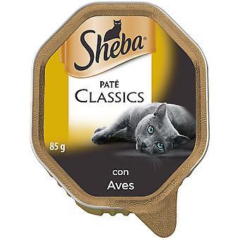 Sheba Tarrina Clásico Aves en Paté para Gatos (Cats , Cat Food , Wet Food)