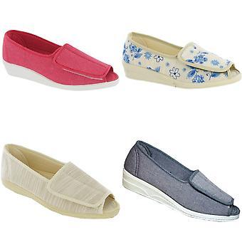 Mirak Quimper Canvas Sandal / Womens sandaler