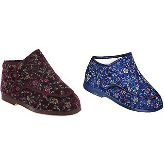 GBS Rhona Ladies Extra Wide Fit Slipper / Womens Slippers