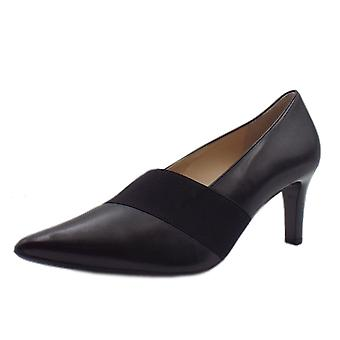 Högl 6-10 6710 Expose Classic Pointed Court Shoes In Black