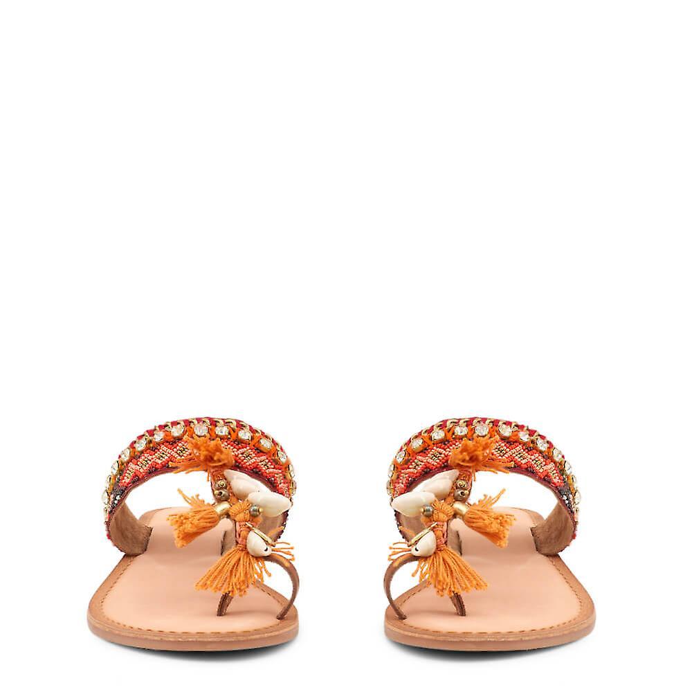 Gioseppo Original Women Spring/summer Flip Flops - Orange Color 31678