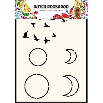 Niederländisch Doobadoo niederländische Maske Art Himmel A6 470.715.401