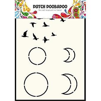 Dutch Doobadoo A6 Mask Art – Sky