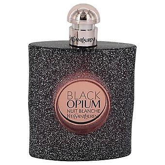 Schwarzen Opium Nuit Blanche Eau De Parfum Spray (Tester) von Yves Saint Laurent 3 oz Eau De Parfum Spray