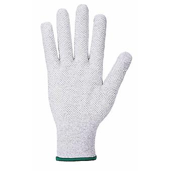 Portwest Mens Antistatic Micro Dot Grip Gloves