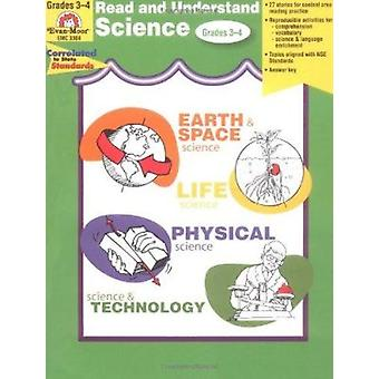 Read & Understand Science - Grades 3-4 by Martha Cheney - Evan-Moor E