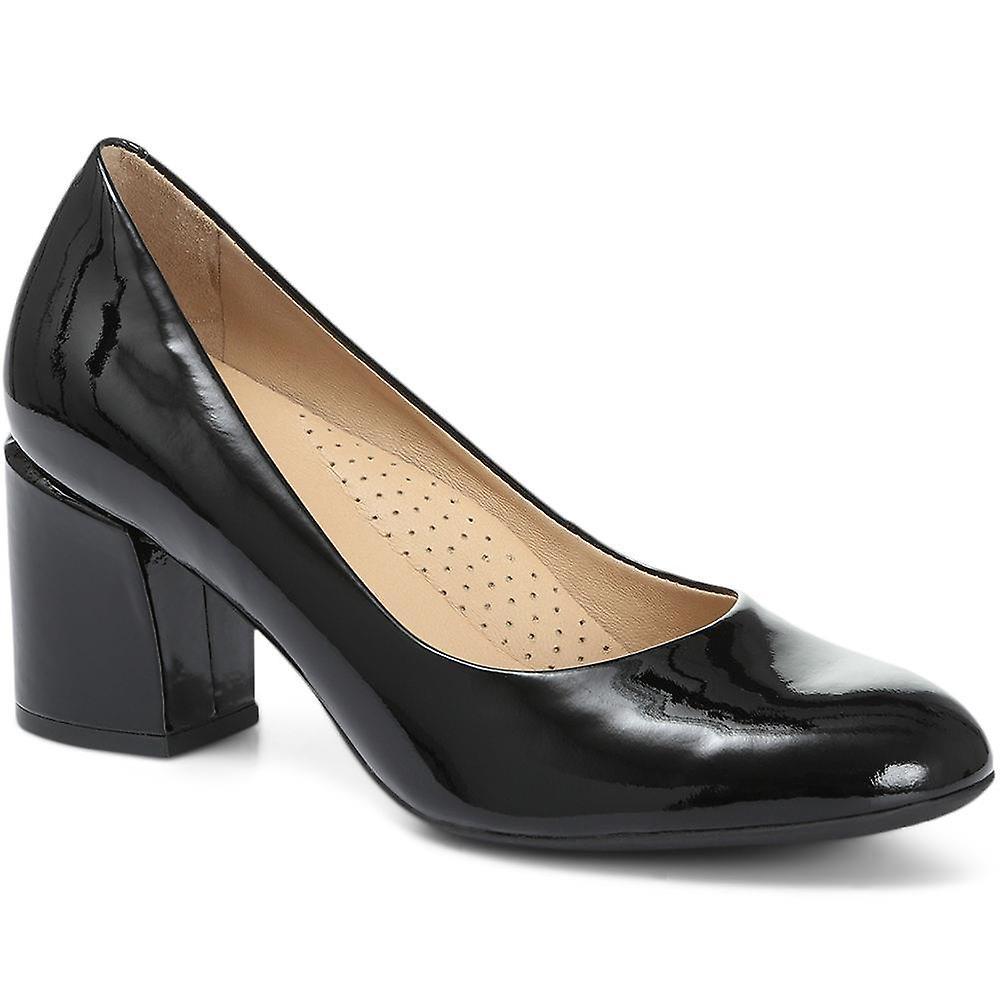 Jones 24-7 Heeled Leather Court Shoe gaByR