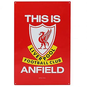 Liverpool TIA Large Metal Sign