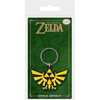 Zelda Triforce Rubber Sleutelhanger