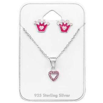 الأميرة - 925 مجموعات الفضة الاسترليني - W33936x