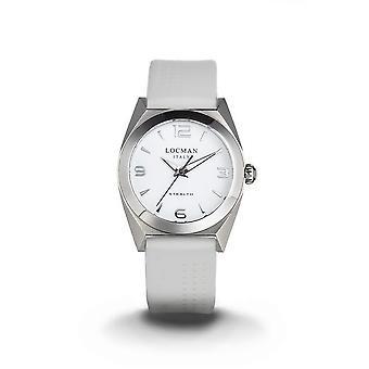 LOCMAN - Wristwatch - Ladies - 0804A08A-00WHNKSW - STEALTH LADY ONLY TIME QUARTZ
