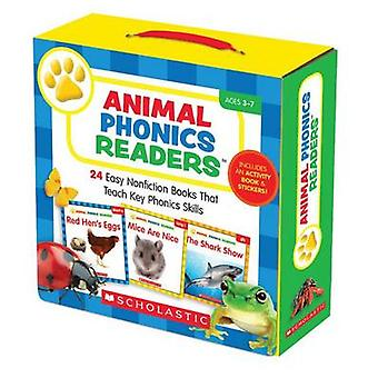 Animal Phonics Readers - 24 Easy Nonfiction Books That Teach Key Phoni